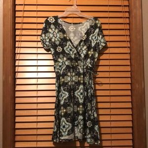 New without tags wrap dress medium